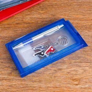 Набор подарочный 2в1 (ручка, брелок кеды) 555505