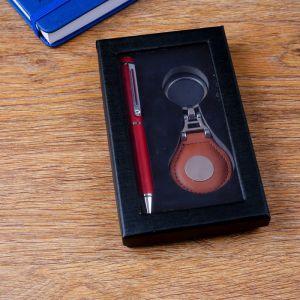 Набор подарочный 2в1 (ручка, брелок) 4429105