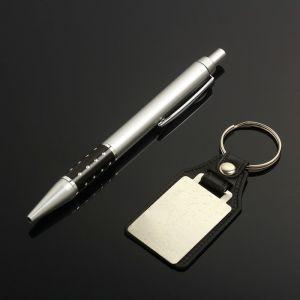 Набор подарочный 2в1 (ручка, брелок) микс 1845423