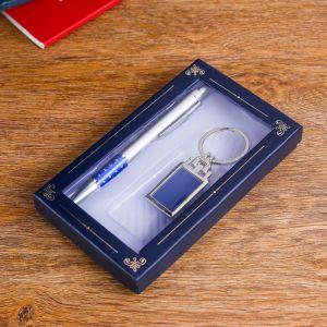 Набор подарочный 2в1 (ручка, брелок) микс 476331