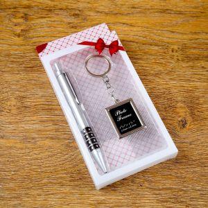 Набор подарочный 2в1 (ручка, брелок-фоторамка) 4473251