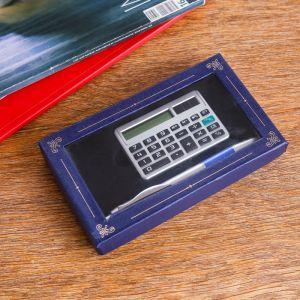 Набор подарочный 2в1 (ручка, калькулятор) 427485