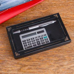 Набор подарочный 2в1 (ручка, калькулятор) 427486