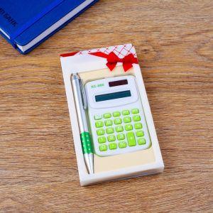 Набор подарочный 2в1 (ручка, калькулятор) 4429110