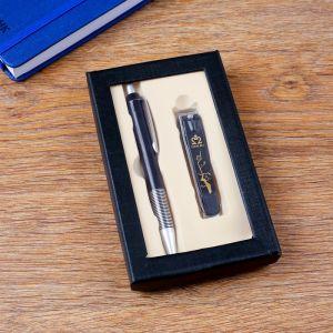 Набор подарочный 2в1 (ручка, кусачки) 4429111