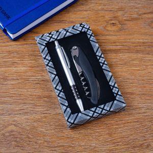 Набор подарочный 2в1 (ручка, открывалка-штопор) 4429113