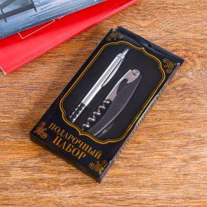 Набор подарочный 2в1 (ручка, открывалка-штопор) 592495