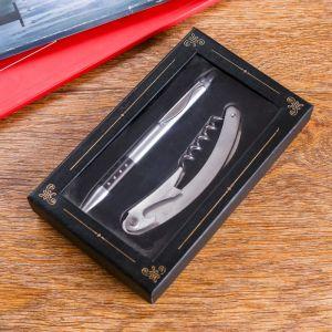 Набор подарочный 2в1 (ручка, открывалка-штопор) 592506