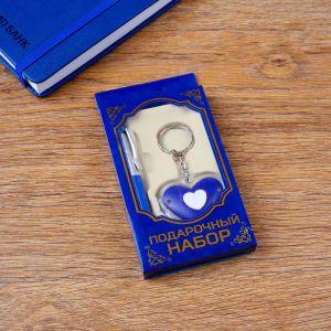 Набор подарочный 2в1 (ручка, фонарик в форме сердца) 4429116