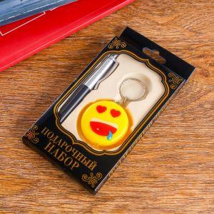 Набор подарочный 2в1 (ручка, фонарик смайл) 593994