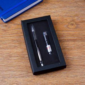 Набор подарочный 2в1 (ручка, фонарик) 4429117