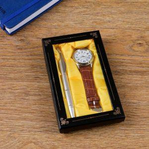 Набор подарочный 2в1 (ручка, часы) 4432360