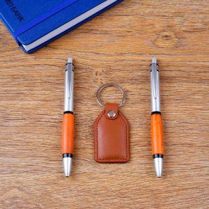 Набор подарочный 3в1 (2 ручки, брелок) 4429118