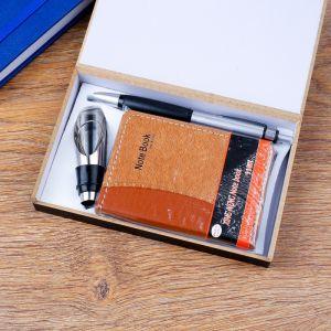 Набор подарочный 3в1 (ручка, визитница, пробка для бутылки) 4429120