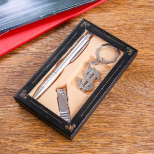 Набор подарочный 3в1 (ручка, кусачки, брелок доллар) 414873