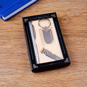 Набор подарочный 3в1 (ручка, кусачки, брелок) 414871