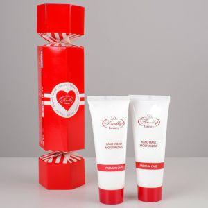 Подарочный набор Liss Krouly Heart: крем д/рук+маска д/рук   4587005