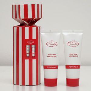 Подарочный набор Liss Krouly Red&White: крем д/рук+маска д/рук   4587001