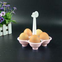 Контейнер для варки яиц (цвет розовый)_4