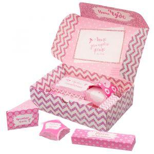 """Набор памятных коробочек для новорожденных """"Наше чудо"""" для девочки"""