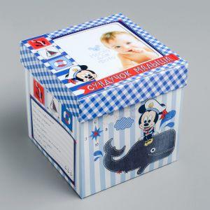 """Памятная коробка для новорожденных """"Сундучок малыша"""", Микки Маус"""
