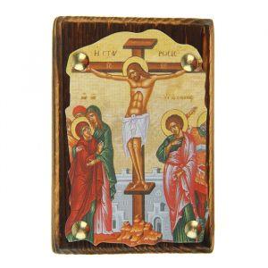 """Икона """"Распятие Христово"""" на подвесе"""