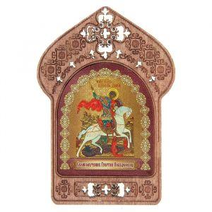 """Икона """"Святой Георгий Победоносец"""". Помощь и защита военнослужащих"""