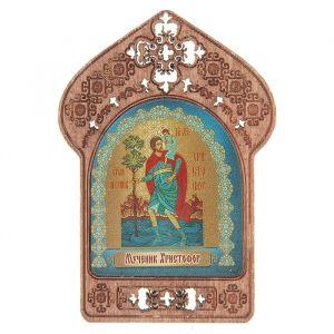 """Икона """"Мученик Христофор"""". Помощь и защита водителей и логистов"""