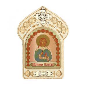 """Именная икона """"Мученица Надежда"""", покровительствует Надеждам"""