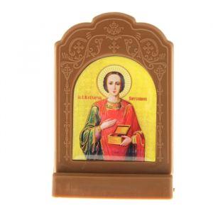 """Икона на подставке """"Великомученик и Целитель Пантелеимон"""" 836825"""