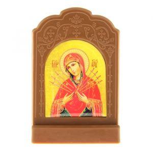 """Икона на подставке """"Икона Божией Матери Умягчение злых сердец"""" 836821"""