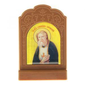 """Икона на подставке """"Преподобный Серафим Саровский"""" 836823"""