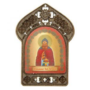 """Именная икона """" Преподобный Илия Муромец"""", покровительствует Ильям"""