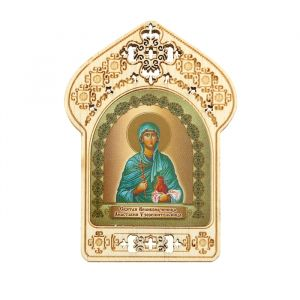 """Именная икона """" Великомученица Анастасия Узорешительница"""", покровительствует Анастасиям"""