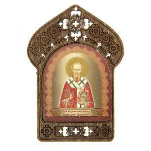 """Именная икона """"Священномученик Дионисий Ареопагит"""", покровительствует Денисам"""