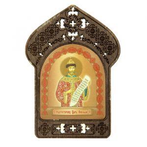 """Именная икона """"Страстотерпец Царь Николай"""", покровительствует Николаям"""