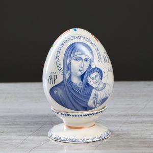 """Яйцо """"Саксонская роза"""", расписное, на подставке"""