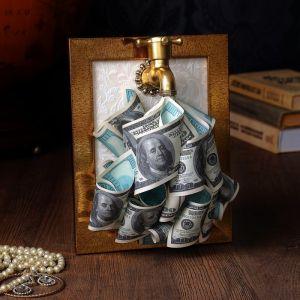 Сувенир «Денежный кран в рамке» 2913914