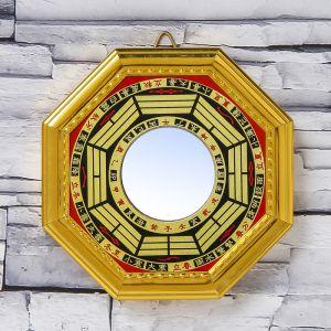 "Сувенир пластик ""Зеркало Ба-гуа"" 1,4х12,4х12,4 см   3775507"