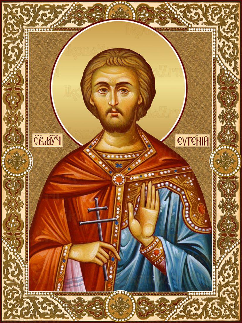 Икона Евгений мученик Севастийский