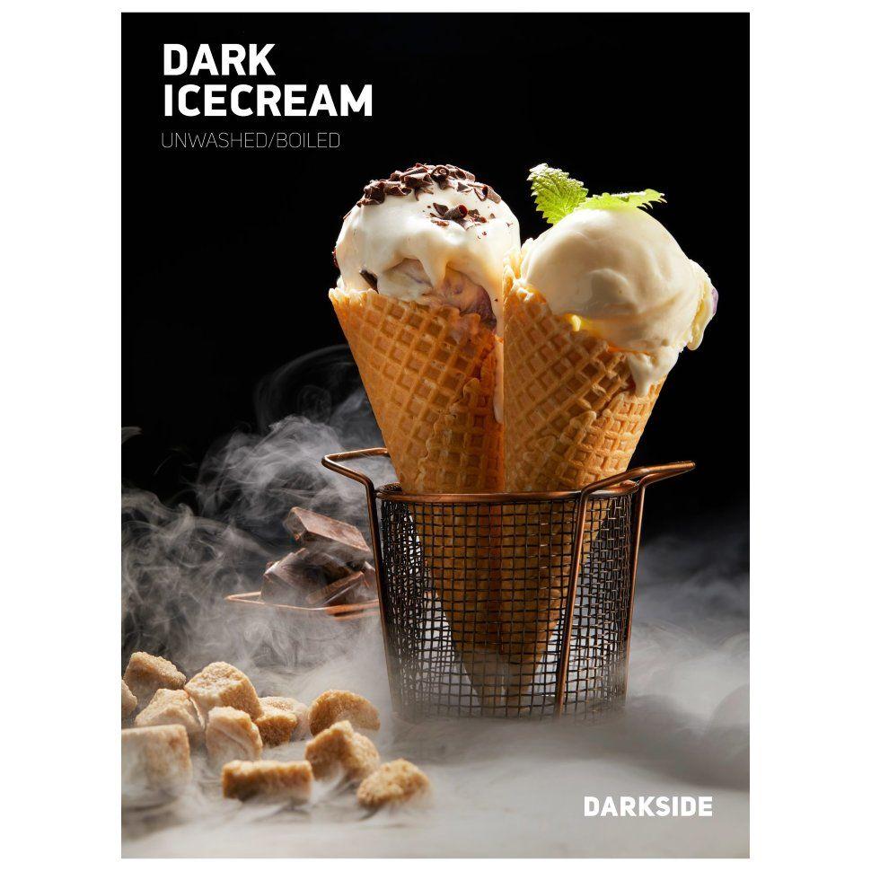 Табак Dark Side Medium - DARK ICECREAM (Шоколадное Мороженое, 30 грамм)