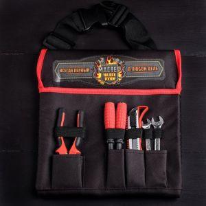 Набор инструментов в сумке «Мастер на все руки», 6 предметов