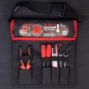 Набор инструментов «Только для настоящего мужика», в сумке, 6 предметов