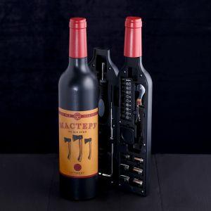 Набор инструментов «Мастеру на все руки», в бутылке, 22 предмета