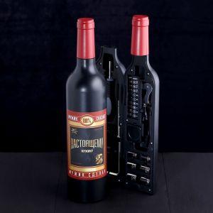 Набор инструментов «Настоящему мужчине», в бутылке, 22 предмета