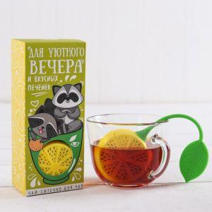Набор «Для уютного вечера»: чай 25 г, ситечко для чая