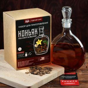 """Набор для приготовления напитка """"Коньяк по-латгальски"""", штоф 500 мл, специи, инструкция"""