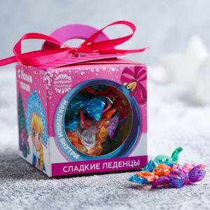 Конфеты в шаре с наклейками «С Новым годом», 60 г 4336900