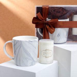 Набор подарочный «Семейного счастья»: кружка 350 мл, свеча