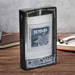 "Набор ""ВМФ"": фляжка пластик 240 мл, нож-мультитул"